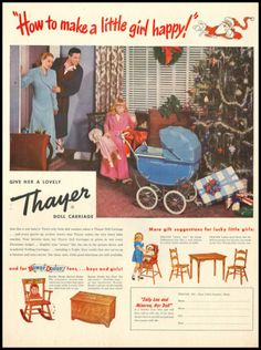 Thayer doll buggies
