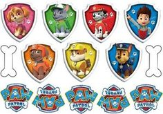 PRECUT-EDIBLE-PAW-PATROL-ICING-TOPPERS-MIXED-SIZES-FAB-FOR-CAKES-OR-CUPCAKES