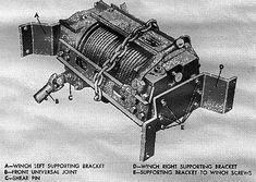 G749 series 10,000# Garwood winch