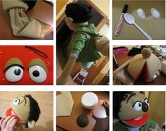 Dos Princeses - Aprendre amb Montessori: Una titella a la familia Marionette Puppet, Sock Puppets, Hand Puppets, Sewing Projects, Craft Projects, Projects To Try, Creative Activities For Kids, Crafts For Kids, Puppet Tutorial