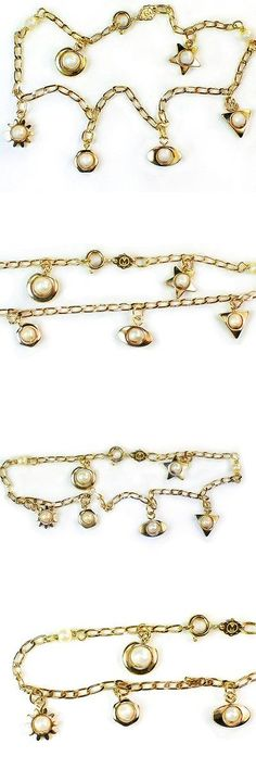itm italian inch chain bracelet necklace gold belcher anklet sterling plated silver