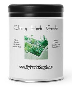 Look at this #zulilyfind! Patriot Seeds 8-Piece Culinary Herb Garden Seed Packet Set by Patriot Seeds #zulilyfinds