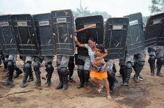 Dia da Água. ONGs, com índios importados, invadem terras, de olho na água - Brasil sem comando -