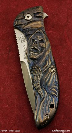Knifeology Custom Knives: Korth Knives