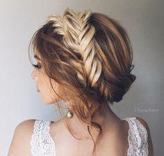Boho crown braid by Ulyana Aster