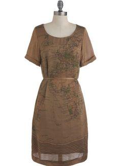 map dress 1