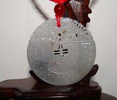 "2"" China Certified Nature Nephrite Hetian Auspicious Double Dragon Plate Pendants, http://www.amazon.com/dp/B01GK46IO6/ref=cm_sw_r_pi_n_awdm_WFYDxbVXNT649"