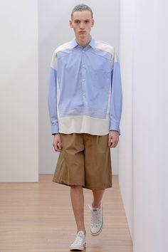Comme des Garçons Shirt Fall 2017 Menswear Fashion Show - Comme des Garçons Shirt Boys