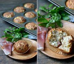 Sundried Tomato & Basil Savory Muffin