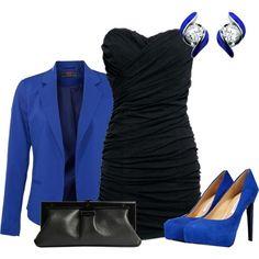 blue black ensemble