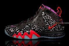 pretty nice 94b64 dec73 NIKE BARKLEY POSITE MAX GALAXY Basketball Sneakers, Nike Basketball, Basket  Nike, Foam Posites