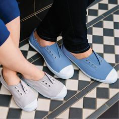 Our Hampton Canvas shoes are available in sizes EU 24 to 41 so you and your child can have a matching pair!