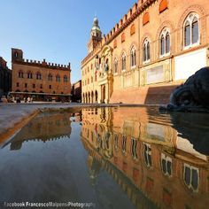 Bologna, la bella si specchia... foto di Francesco Malpensi Photography