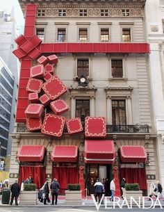 gift-wrapped:  would be a great idea for a house!
