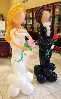 Woven Bride & Groom
