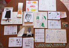 Del cuaderno a la calle Abril, Día 15 Invitada del día: Rocío Cueto http://rousita1000.tumblr.com/