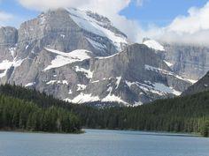 Many Glacier area in Glacier National Park