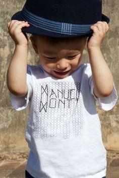 Manuel Montt Signature Hexagon Tee | 100% Organic Kidswear | SHOP: www.manuelmontt.com.au