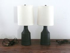 Check out the Small Matte Black Accent Lamp in Desk & Table Lamps, Lighting from Victoria Morris Pottery for How To Make Light, Fine Art Lamps, Lamp, Black Lamps, Rustic Lamps, Accent Lamp, Ceramic Table, Ceramic Table Lamps, Retro Lamp