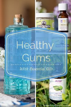You might not be thinking about it much now, but everyone's gums deteriorate over time. In this post learn how to choose the right essential oils to add to your DIY oral health treatments. Clue: myrrh essential oil is a lifesaver for your gums!