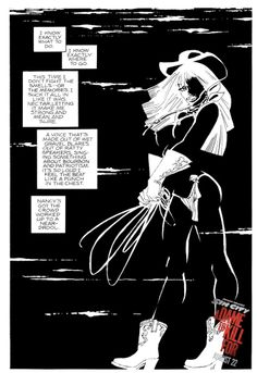 """Storyboards de Frank Miller y su """"Sin City: A Dame To Kill For"""" Frank Miller Sin City, Frank Miller Art, Sin City Comic, Comic Page, Ink Illustrations, New Artists, American Comics, Storyboard, Comic Books"""