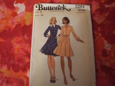 Butterick 3264 Pattern size 14 uncut 5.00