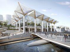 نتيجة بحث الصور عن light structure canopies in architecture