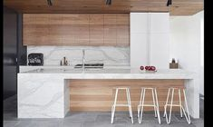 31 Modern Kitchen Area Concepts Every Home Prepare Requirements to See Open Plan Kitchen Living Room, Kitchen Room Design, Best Kitchen Designs, Modern Kitchen Design, Home Decor Kitchen, Kitchen Interior, Kitchen Tiles, Kitchen Cabinets, Küchen Design