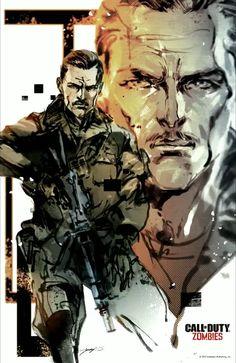 Call Of Duty Zombies Chronicles Will Feature Art By Metal Gear Solid Legend Yoji Shinkawa
