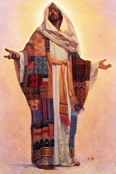 Other Paintings - ThomasBlackshearArt Thomas Blackshear, Coat Of Many Colors, Spirited Art, Biblical Art, Jesus Art, Traditional Paintings, 2d Art, Psychedelic Art, Sculpture Art