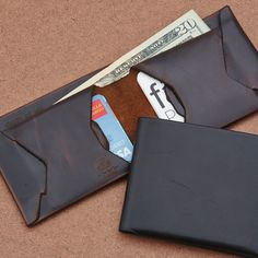 Your wallet holds some of your most important items and it's with you everyday, so why would you buy something poorly made that you hate looking at? These wallets from Death at Sea are constructed ...