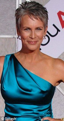 "Jamie Lee Curtis - like her in ""True Lies"", ""Fierce Creatures"", ""Blue Steel"", ""Trading Places""."