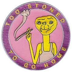 """Image of """"E.T. """" Patch"""