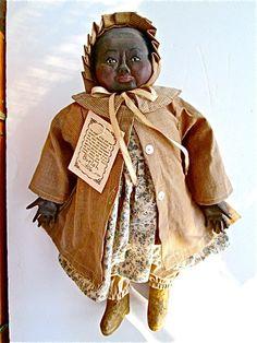 Maynard ArnettBuelah Folk Doll por 21GristmillLane en Etsy