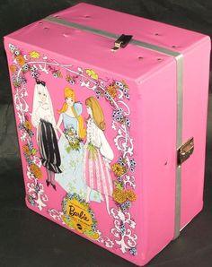 Merveilleux Pretty Barbie Carrying Case