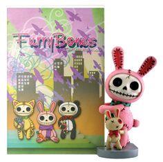 Furrybones® Pink Bun-Bun Frame