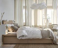 Gorgeous Ikea Bedroom Ideas That Won't Break the Bank | White stain