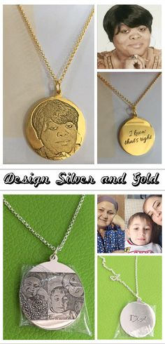 Personalized photo engraved necklace memorial jewelry memorial personalized photo engraved necklace aloadofball Choice Image