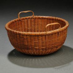 Double-handled Nantucket Basket