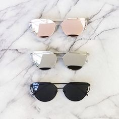 """cali"" sunglasses, rose"