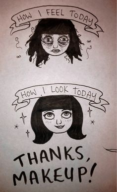 Someday's my gratitude knows no bounds! #humor   #beauty   #makeuptips