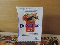 RESENHA FITNESS: Sal sem Sódio DaSALbor Sanibrás ~ Micro Saia