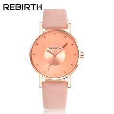 >> Click to Buy << Luxury Brand Steel Watches Women Brand Rebirth Watches High Quality Waterproof Women's Analog Watches RE055 leather watch #Affiliate