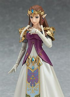 Good Smile The Legend of Zelda Twilight Princess Zelda Figma Action Figure http://amzn.to/2kYirZk