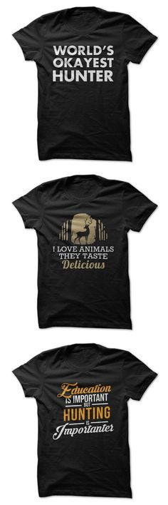 Shirts just for hunters. Click here to see all of our hunting shirts. #hunting