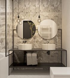 Bathroom modern design idea