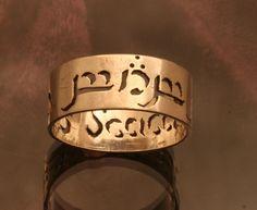 Elvish Name or Phrase Ring. $140.00, via Etsy. things to get