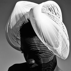 3826c8a89df A Collection of Printed Hats by Renown Milliner Gabriela Ligenza - Printing  Industry