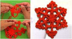 Crochet Beautiful Snowflakes For Christmas