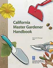 The Master Gardener Handbook is available to any one who interested in learning more in depth information and advise on sustainable garden practices.  A great resource on many subjects; basic horticulture, soil, irrigation, diseases and pests, weeds, pruning, fruit, vegetables and lots more.